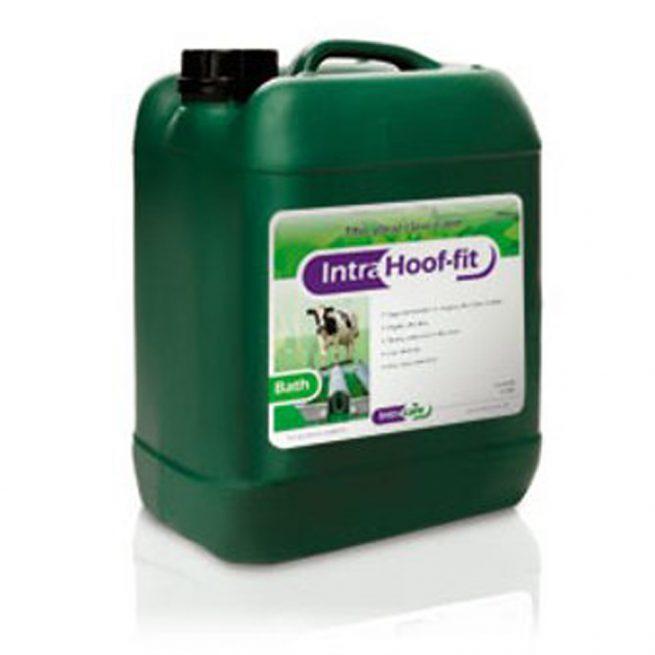 intra hoof fit bath cow hoof
